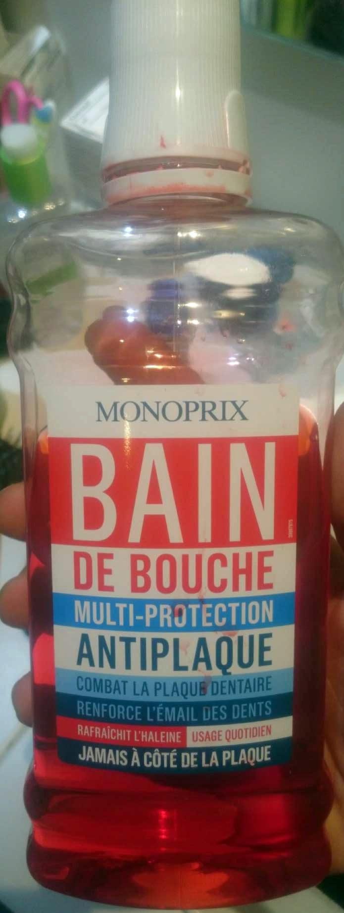 Bain de bouche multi-protection antiplaque - Produit