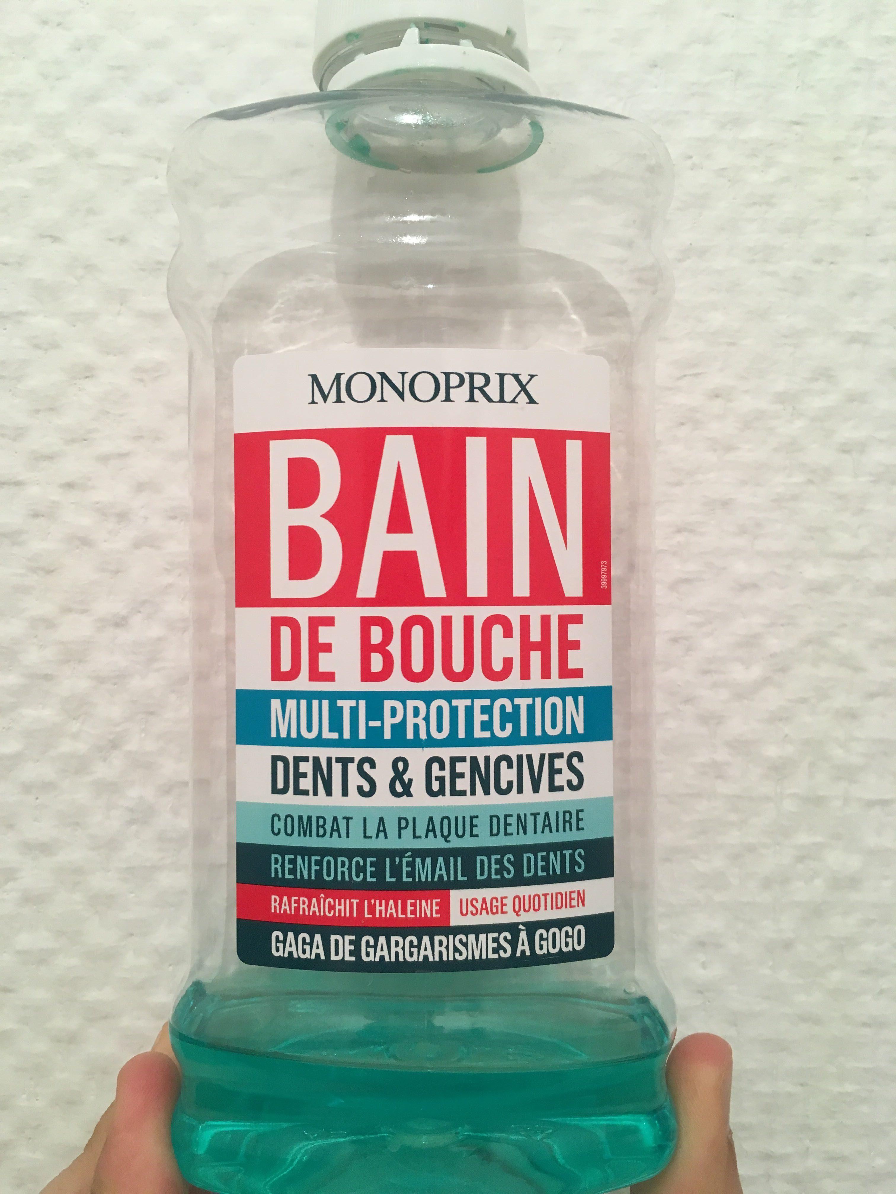 Bain de bouche dents et gencives - Product