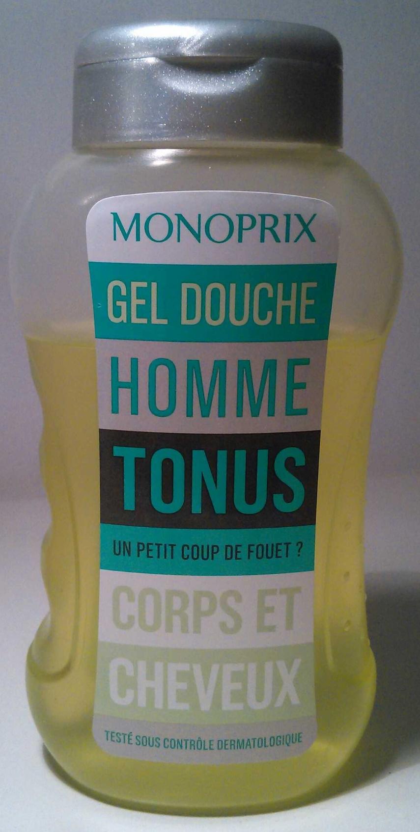 Gel douche homme Tonus Corps et cheveux - Produit - fr