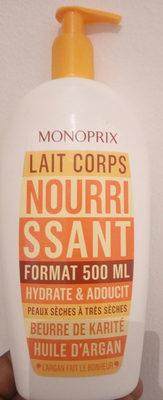 huile d'argan (lait corps) - Product