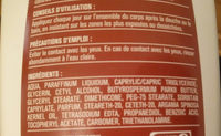 huile d'argan (lait corps) - Ingredients - fr