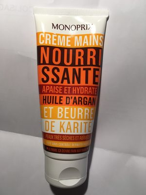 Crème mains nourissante - Produit - fr