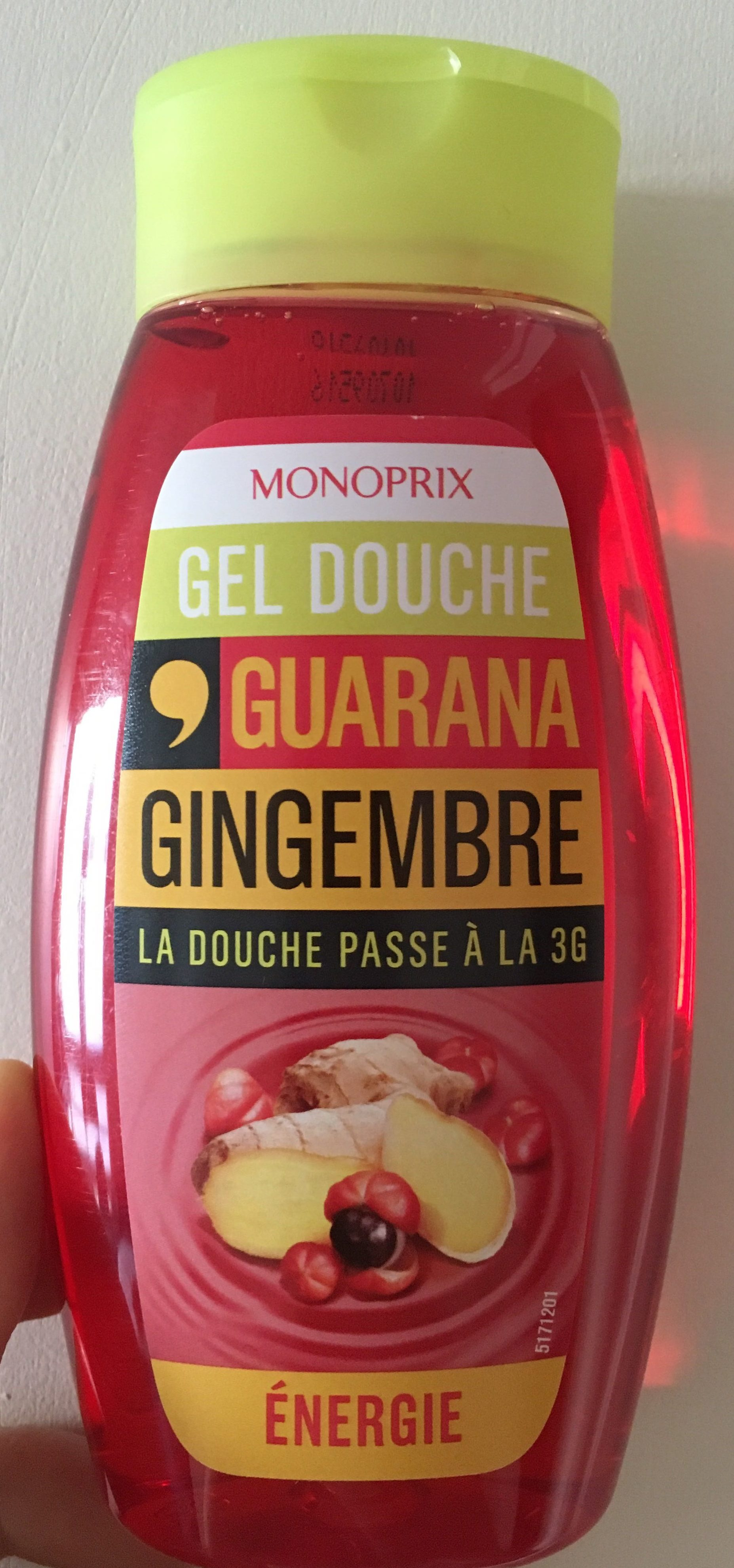 Gel douche Guarana Gingembre - Product