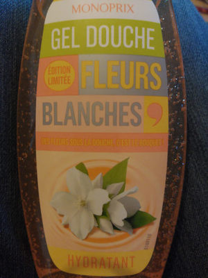 Gel douche fleurs blanches - Product