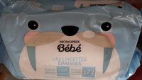 lingettes BB épaisses Monoprix - Product - fr
