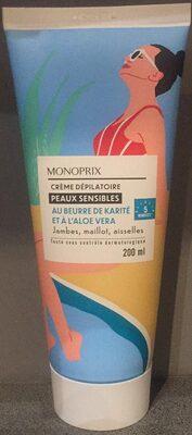 Crème dépilatoire Peaux sensibles - Product - fr