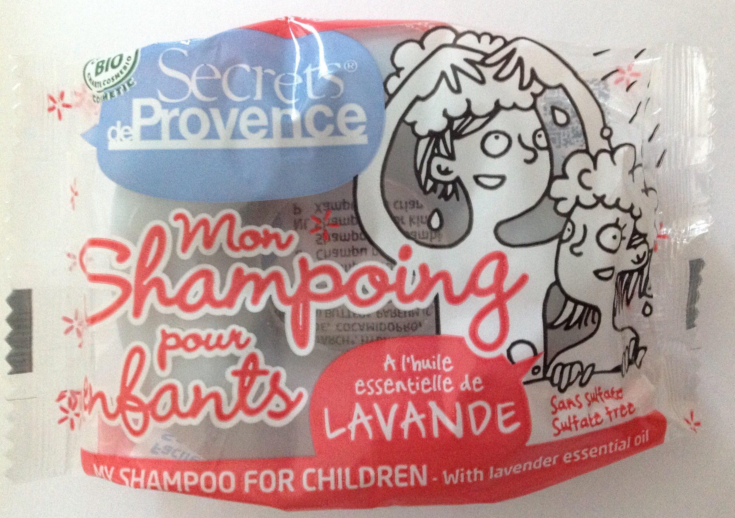 Mon shampoing pour enfants - Produit