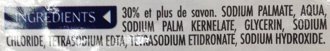 Savon de Marseille - Ingredients - fr