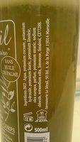 Véritable savon liquide de Marseille - Ingredients - fr
