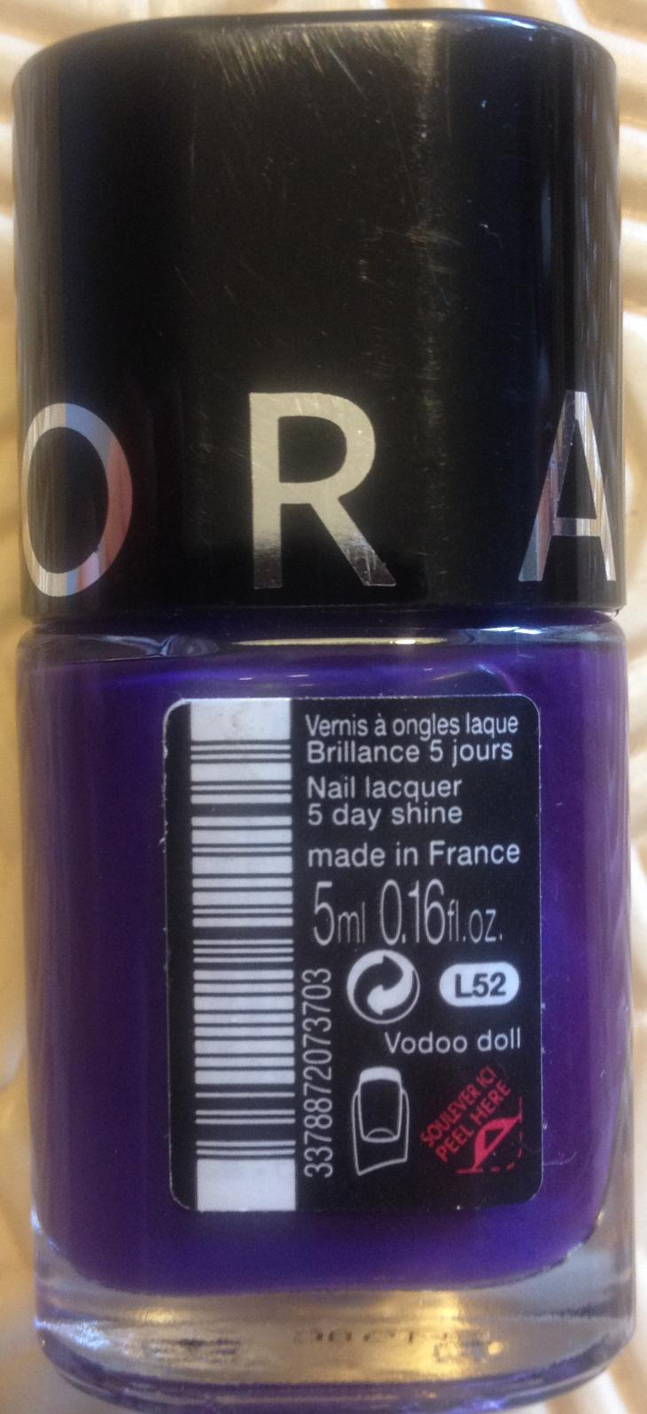 Vernis à ongles laque Brillance 5 jours L52 - Product