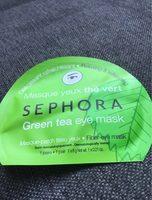 Masque yeux thé vert - Produit