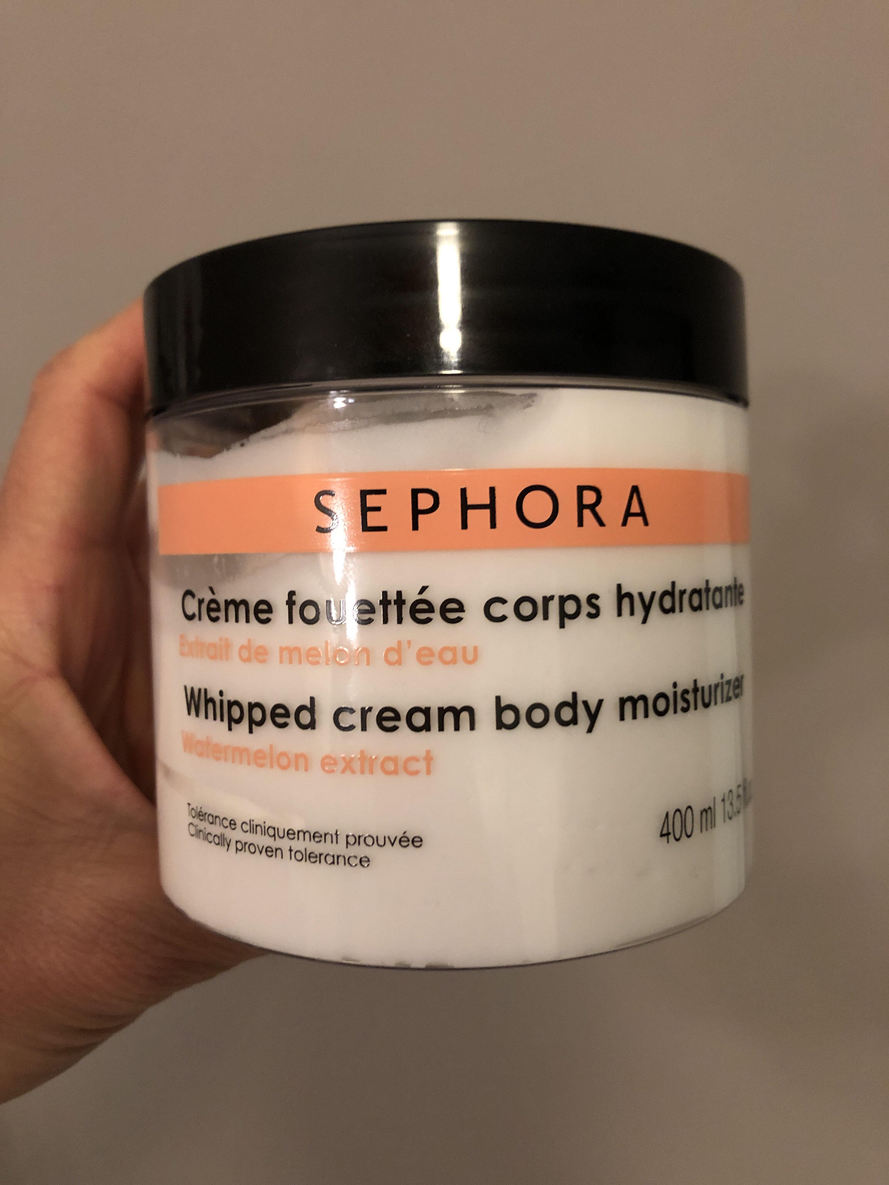 Crème fouettée corps hydratante - Product