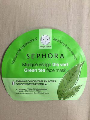 Masque visage thé vert - Produit