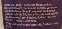 Savon liquide de  Marseille - Ingredients - fr