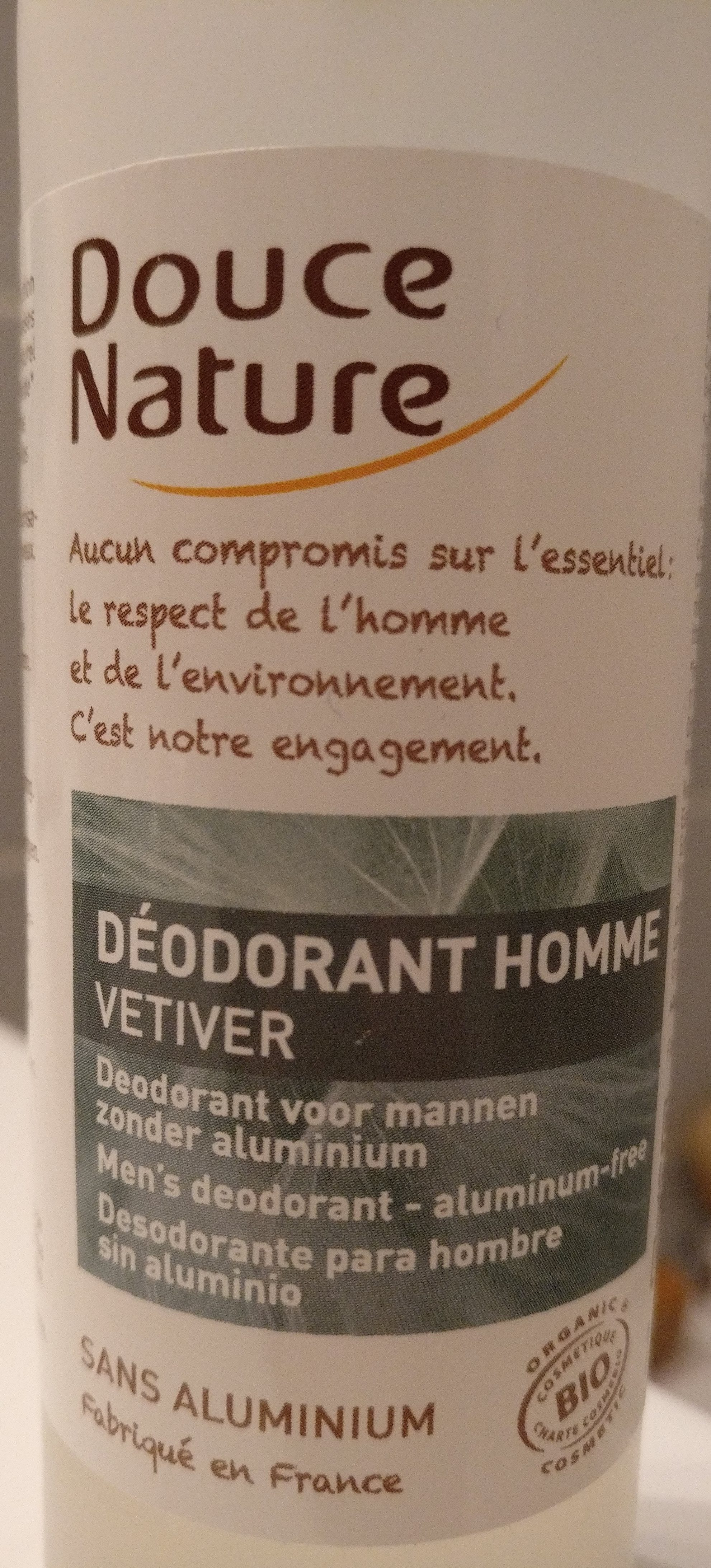 Déodorant homme Vetiver - Product - fr