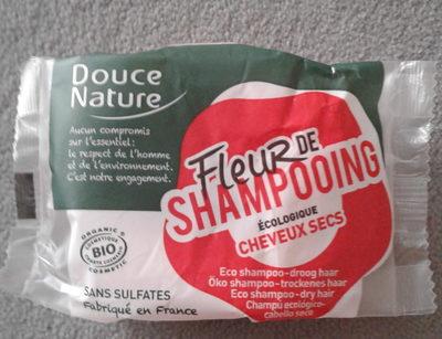 Fleur de shampooing écologique cheveux secs - Product