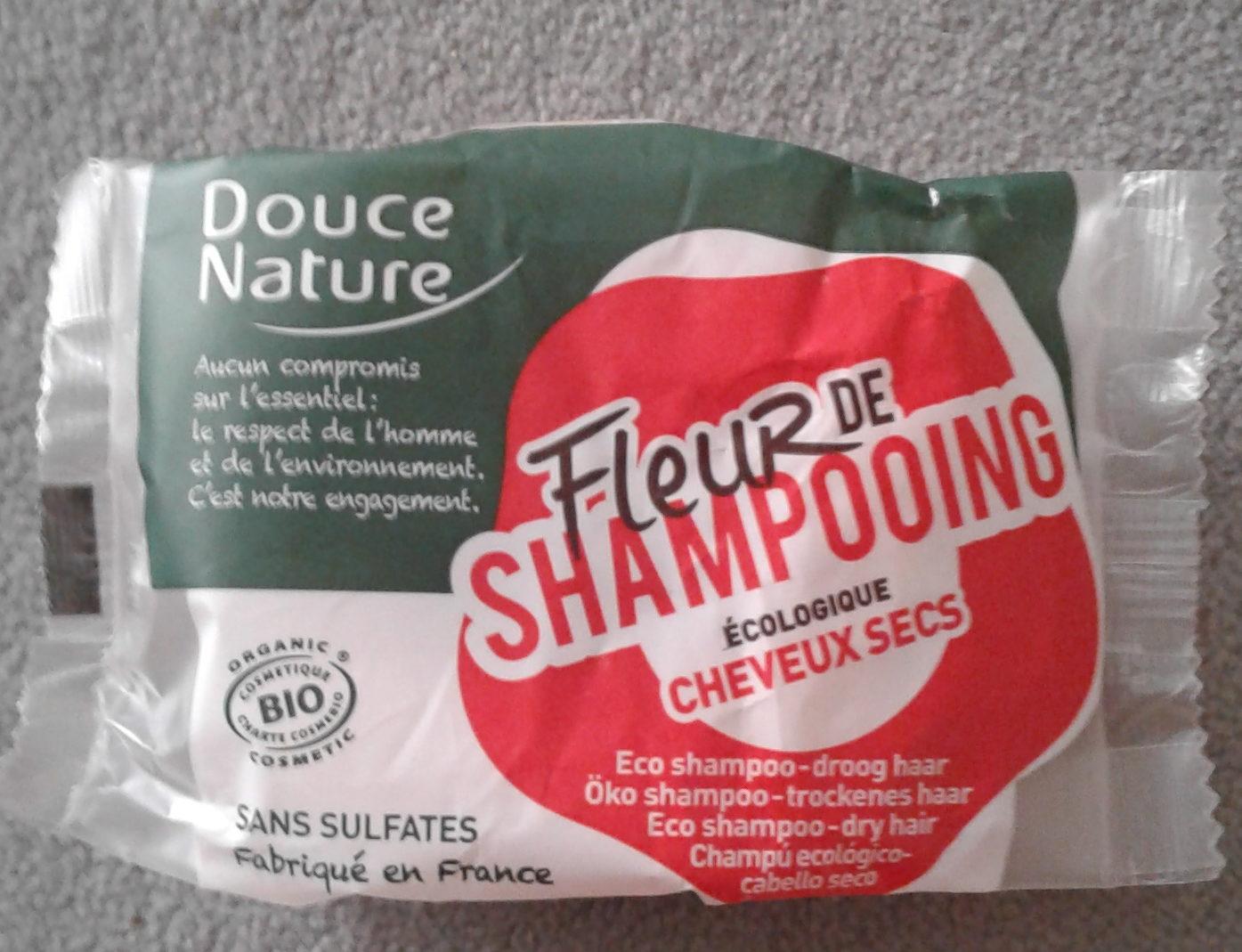 Fleur de shampooing écologique cheveux secs - Produit