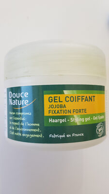 Gel coiffant - Jojoba - Fixation forte - Product