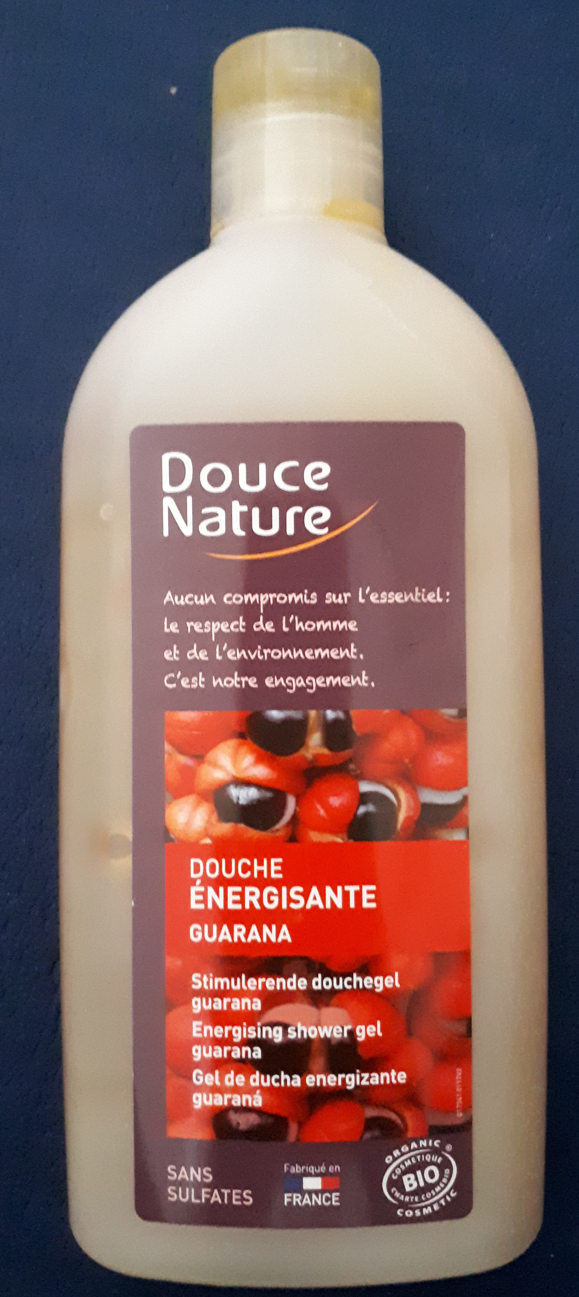 Douche énergisante guarana - Product - fr
