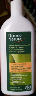 Shampooing crème nourrissant cheveux secs et abîmées au karité bio & jojoba bio - Produit