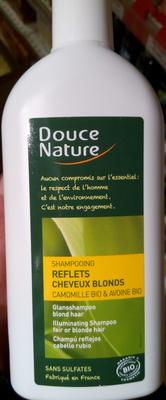 Shampooing reflets cheveux blonds camomille bio & avoine bio - Produit - fr