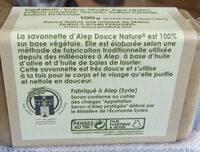 La savonnette d'Alep - Product - en