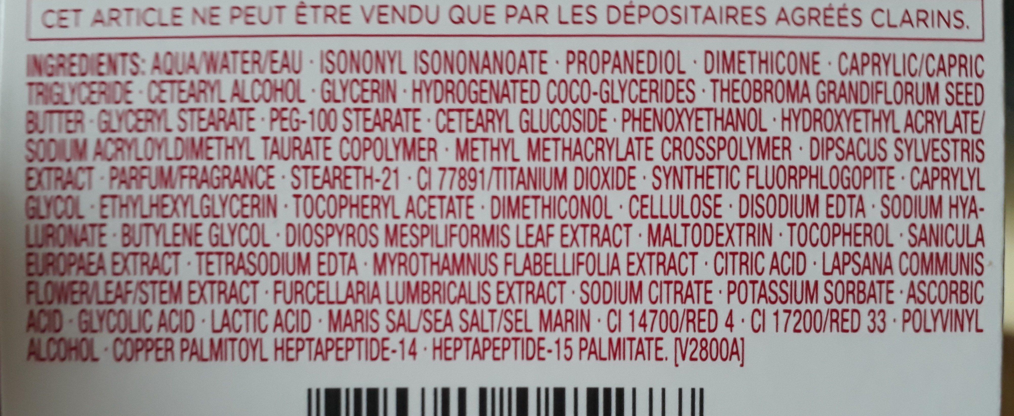 Multi-active Jour,50 ML,Peaux Sèches - Ingrédients