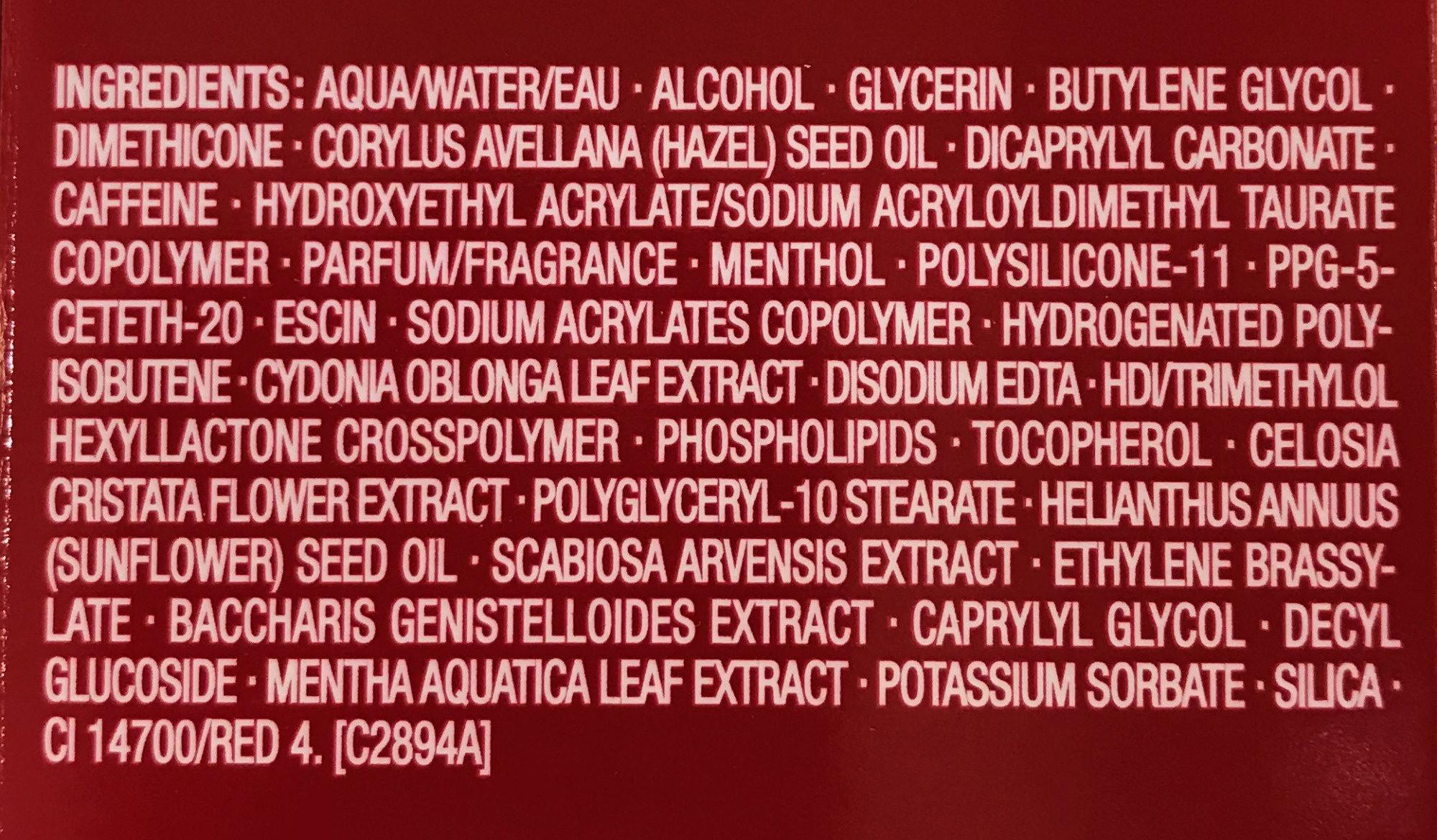 Body Fit - Ingredients - fr