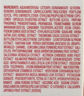 Double Serum - Ingredients - fr
