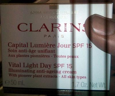 Capital lumière jour SPF 15 - Product - fr