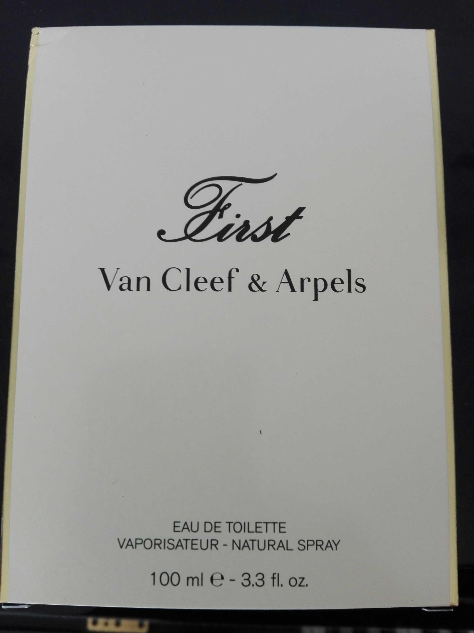 First (eau de toilette) - Produit