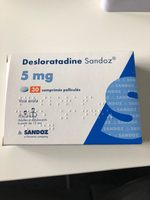 desloratadine 5 mg - Product