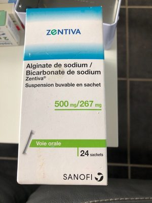 alginate de sodium bicarbonate de sodium - Product - fr