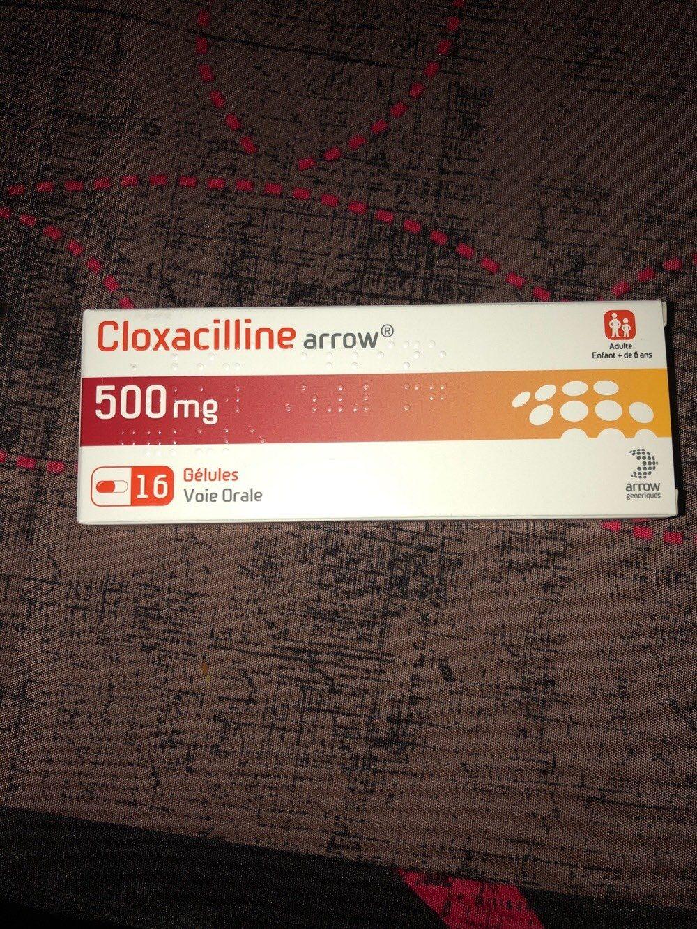 cloxacilline 500 mg - Product - fr