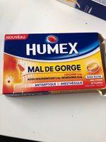 humex mal de gorge orange - Product - fr
