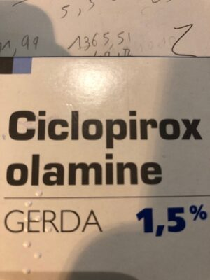 Shampooing ciclopirox olamine - Product