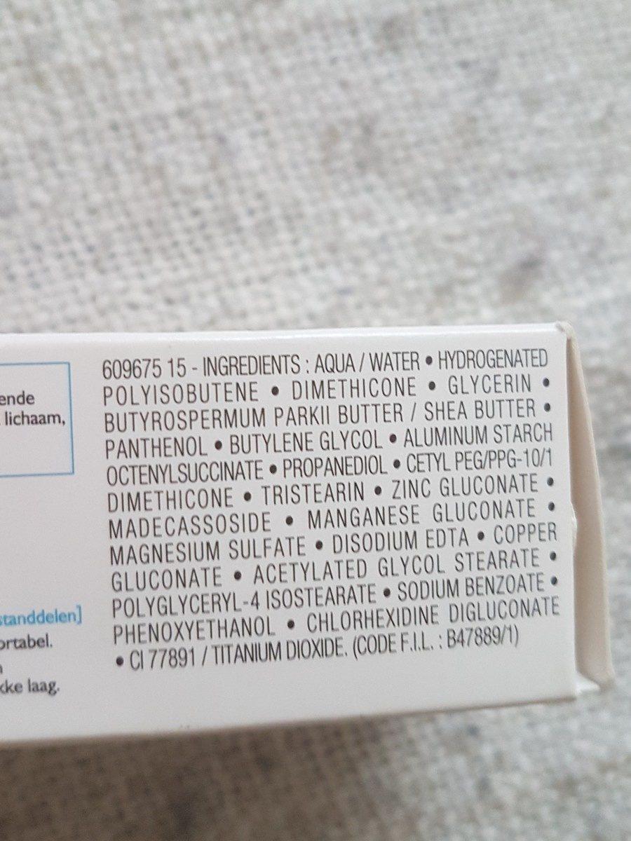 Cicaplast baume B5 - Ingrédients - fr