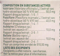 Euphytose stress - Ingredients - fr