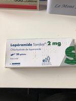 loperamide 2 mg - Product - fr