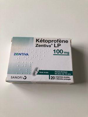 ketoprofene LP 100 - Product - fr