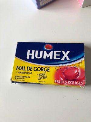 humer mal de gorge - Product - fr