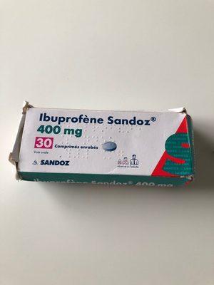 ibuprofene 400 - Product - fr