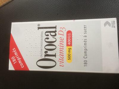 Calcium - vitamine D3 Orocal - Product