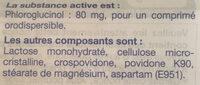 Phloroglucinol - Ingrédients