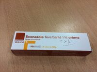 Econazole crème - Product