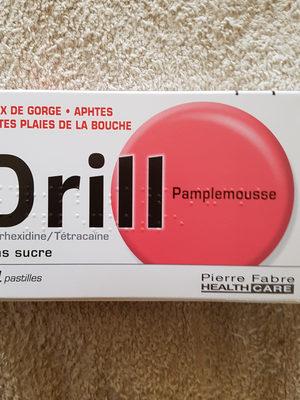 Drill Sans Sucre Pamplemousse X24 - Product - fr
