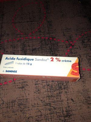 acide fusidique crème - Product - fr