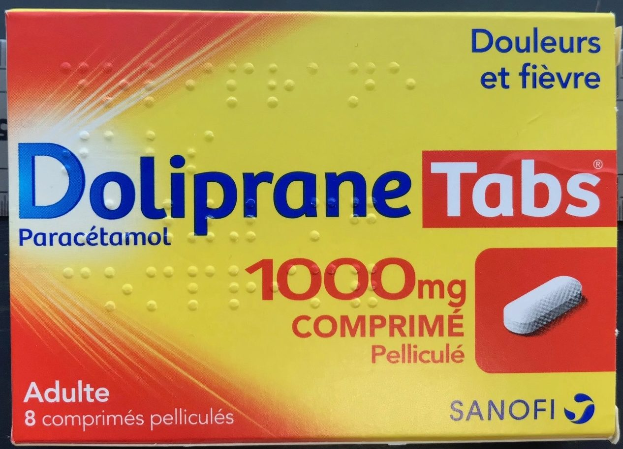 Doliprane Tabs 1000mg - Product