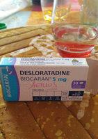 desloratadine/aerius - Product
