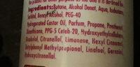 antibactérien mousse - Ingredients - fr
